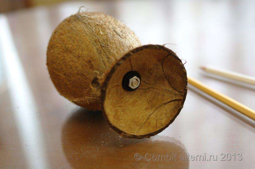 Как сделать кокосы своими руками 96